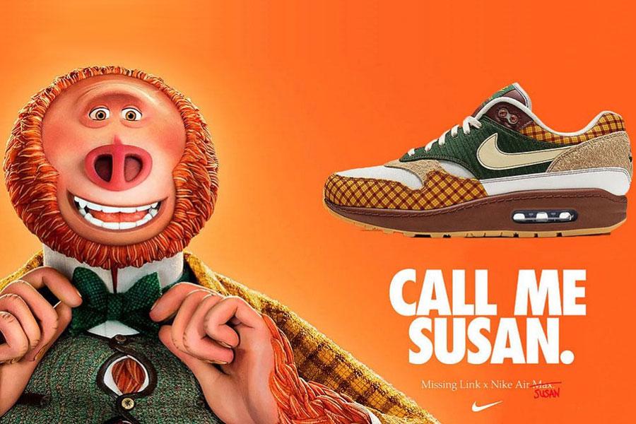 be286691d5a Nike viert de lancering van animatiefilm 'Call me Susan' met hele dikke Nike  Air Max 1 collab!